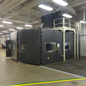Csz Drive In Chambers For Full Vehicle Testing