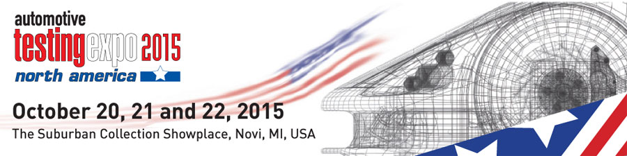 Visit us at the Automotive Test Expo this week!