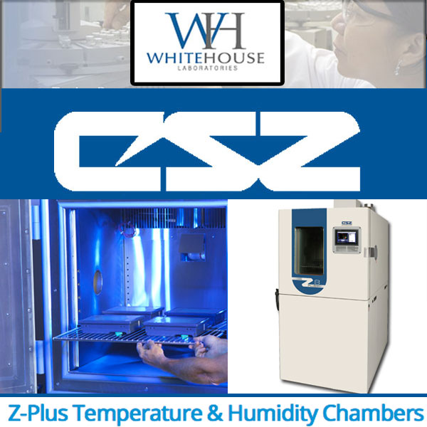 Whitehouse Labs purchases CSZ Z-Plus Test Chambers to Expand Package Testing Services
