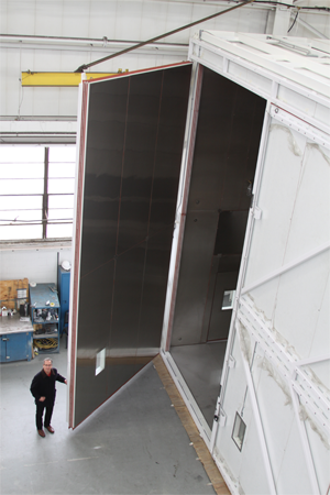 CSZ Test Chamber to Test Orion Spacecraft